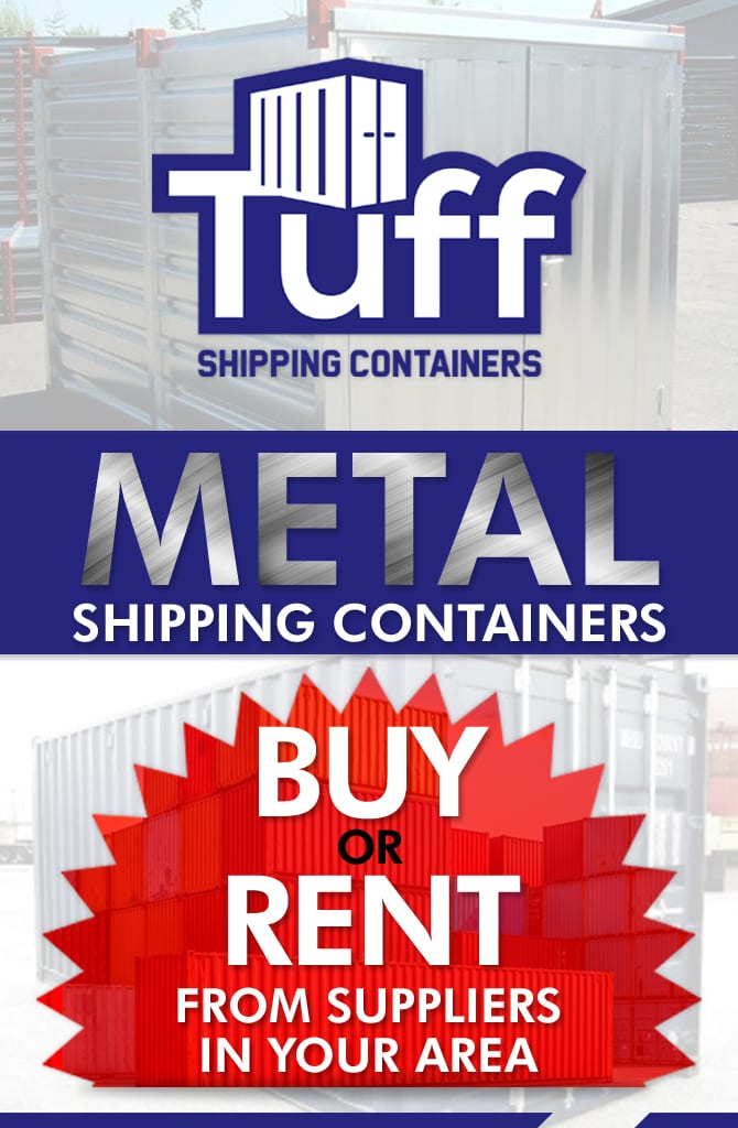 Tuff Metal Storage Containers Buy or Rent